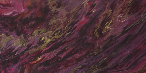 Painting: Winter storm. Acrylic on canvas. Abstract, colorful, calming, purple, magenta, olive green